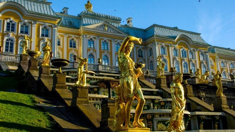 Peterhof - Saint Petersbourg