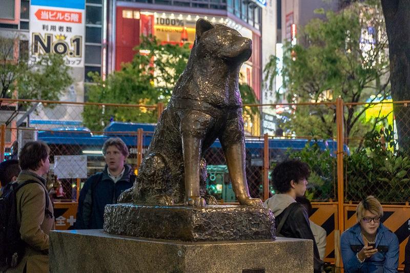 Tokyo - Hachiko Statue