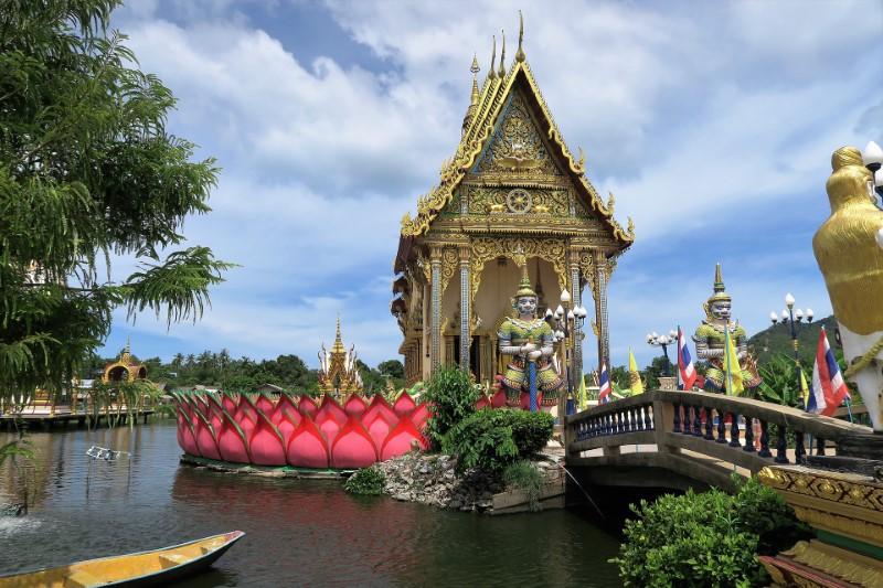 Temple in Koh Samui, Thailand