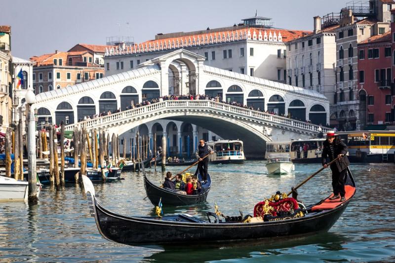 Venice - The Rialto Bridge